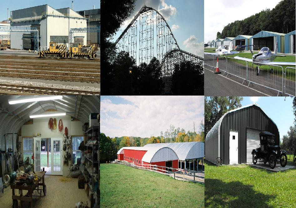 Steel Building Types