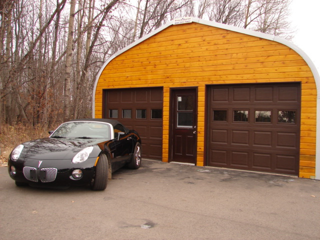 Metal garage kits garages don t have to appear monotonous for Kit di garage