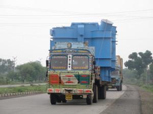 Steel Structure Trucking