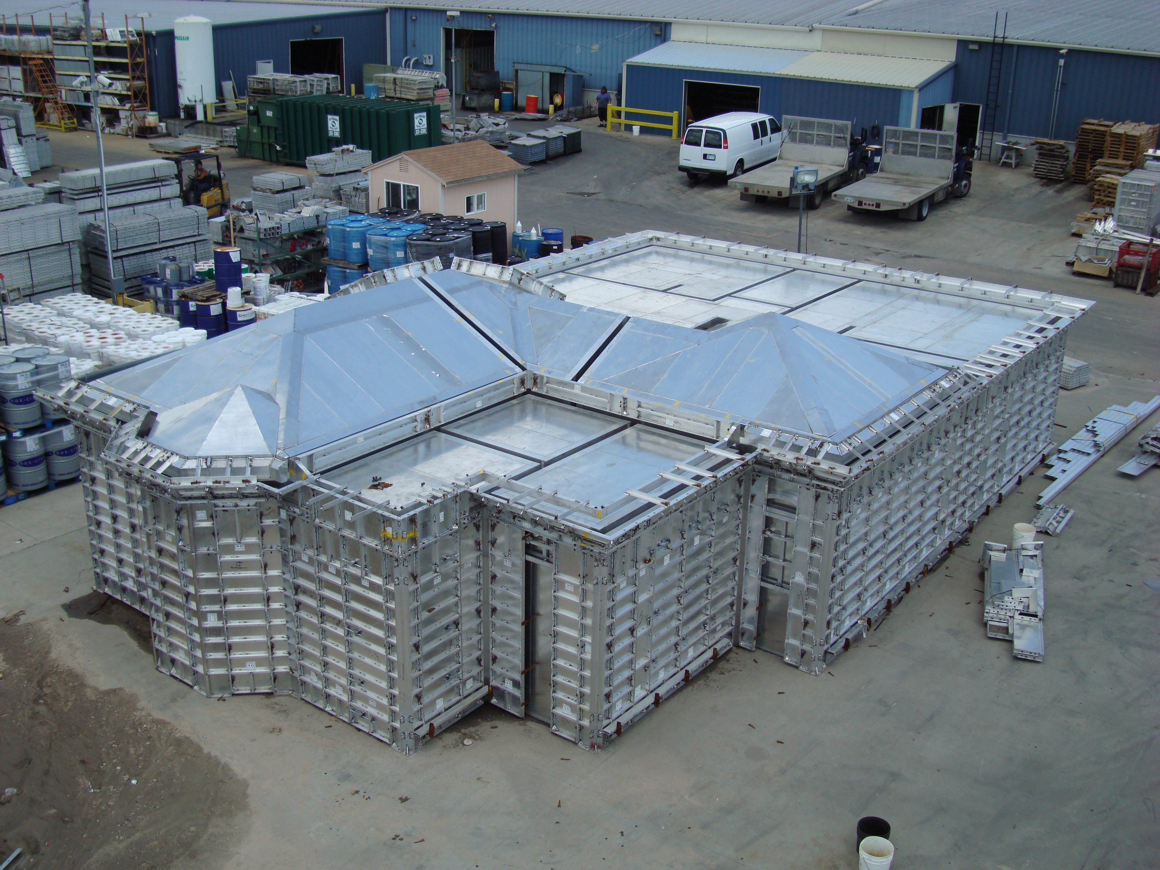 Pre Fabricated And Engineered Steel Buildings Are Cost Effective Wiring A Metal Building